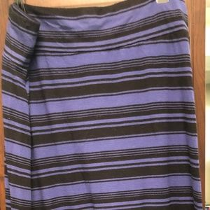 Maxi skirt  1X  Or maybe strapless dress!